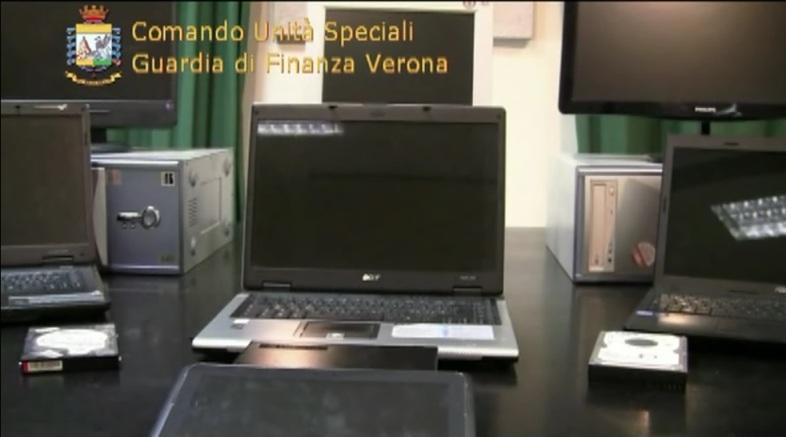 La Guardia Di Finanza smantella organizzazione Italiana dedita alla pirateria on line attraverso siti web esterovestiti.