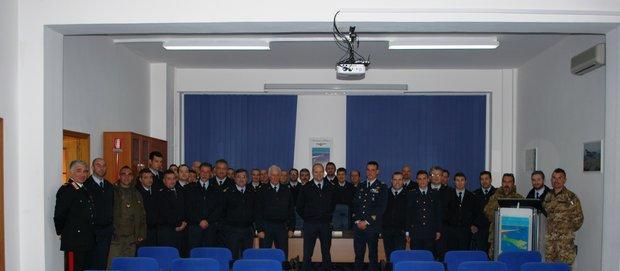 Il Comandante Logistico a Lampedusa-