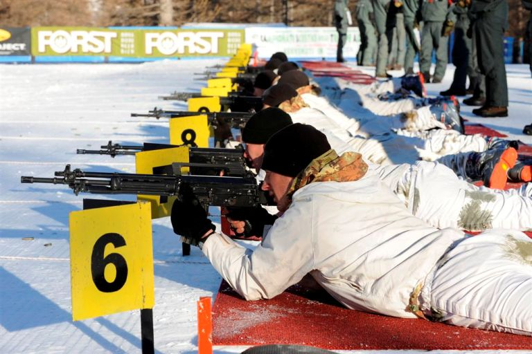 Ca.S.T.A. 2014 - Plotoni 1° Giorno prova tiro con arma individuale (Pragelato, 28 gen. 2014)
