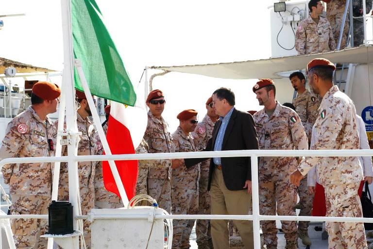 Sinai, il Direttore Generale della Multinational Force & Observers incontra i nostri marinai -