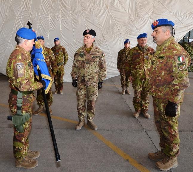 1. Cambio al comando della Task Force Fenice