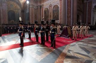 Roma, i Granatieri di Sardegna ricordano Don Alberto Genovese