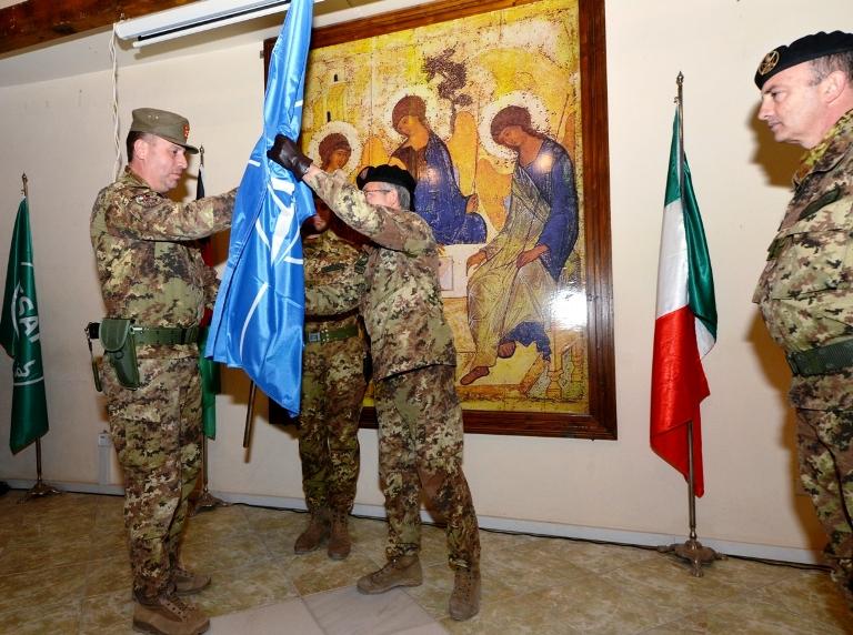 Cambio al comando del team di consulenti italiani del centro di coordinamento delle forze armate afgane