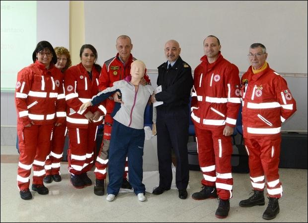 Corso di primo soccorso per il personale di Caserta--