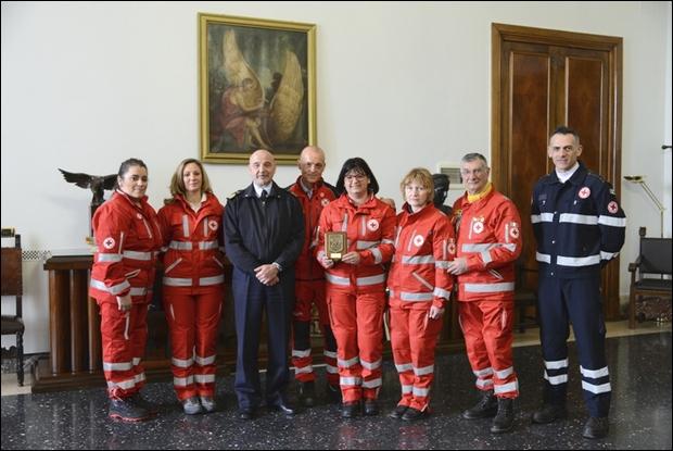 Corso di primo soccorso per il personale di Caserta