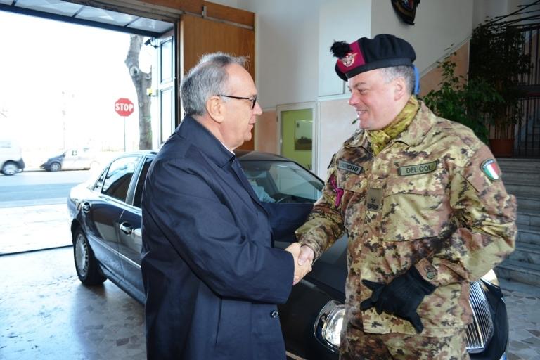 Esercito: Il Prefetto di Bari in visita al Comando Brigata Pinerolo