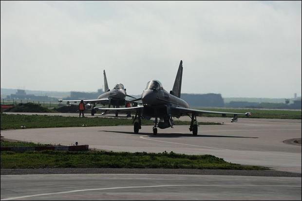 Scramble dei caccia dell'Aeronautica Militare -