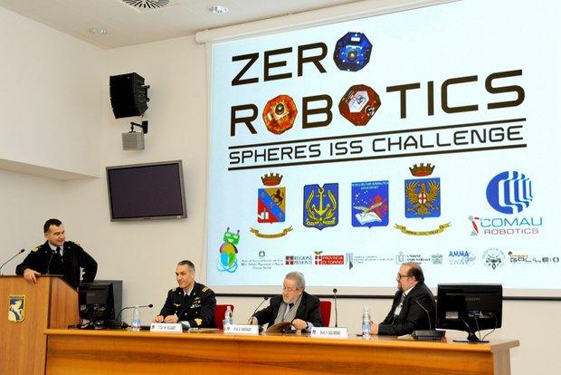 Zero Robotics alla Scuola Douhet-