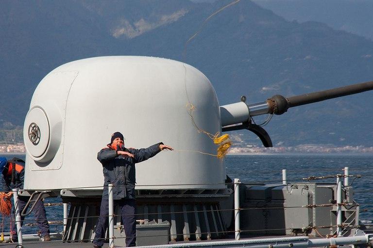 le navi della Scuola Comando in sosta a Palermo--
