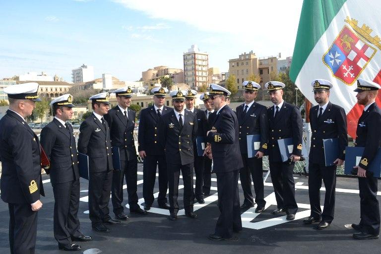 si formano 12 comandanti della Marina -