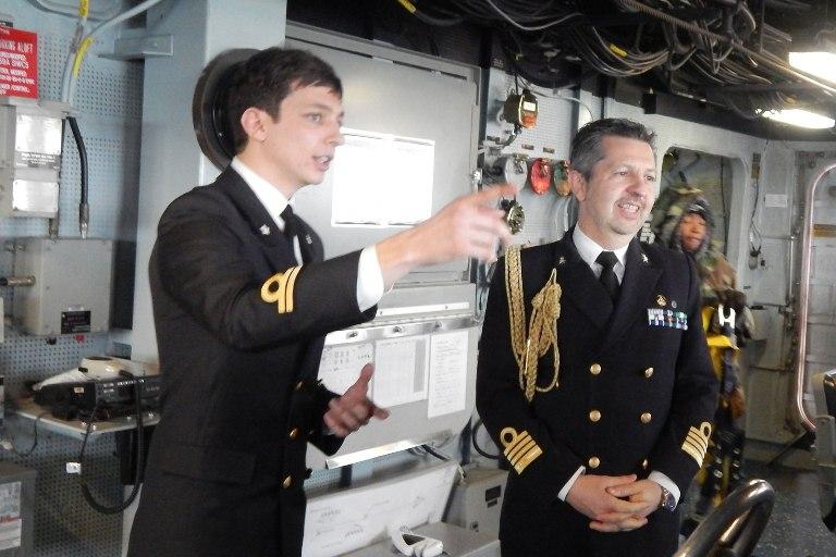 ufficiale italiano imbarcato su nave americana --