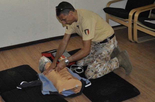 Concluso il corso BLSD alla TFA di Al Bateen (EAU) -