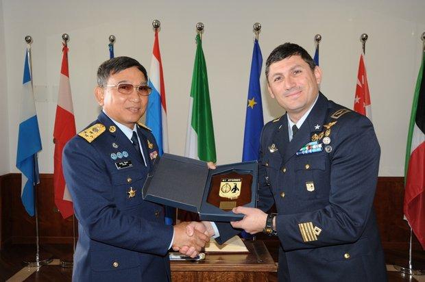 Delegazione della Royal Thai Air Force in Italia----