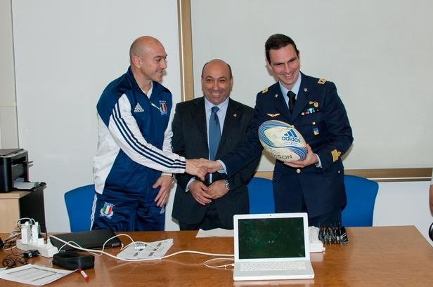 Gli allievi Marescialli incontrano la Nazionale di Rugby-