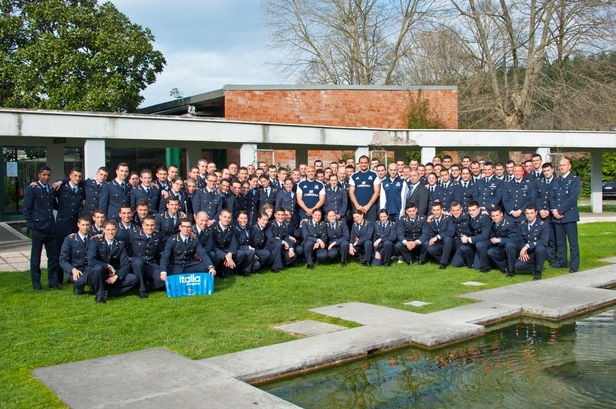 Gli allievi Marescialli incontrano la Nazionale di Rugby