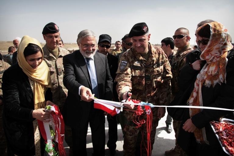 Afghanistan: l'8 marzo del contingente italiano a Herat
