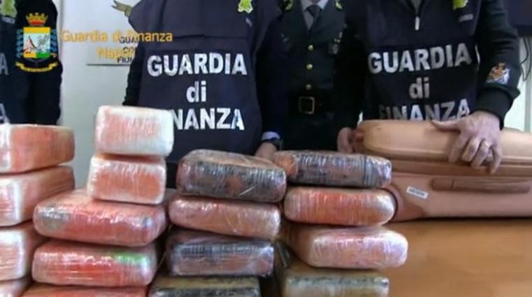 Lotta al traffico di stupefacenti – Sequestrati circa 24 chilogrammi di cocaina