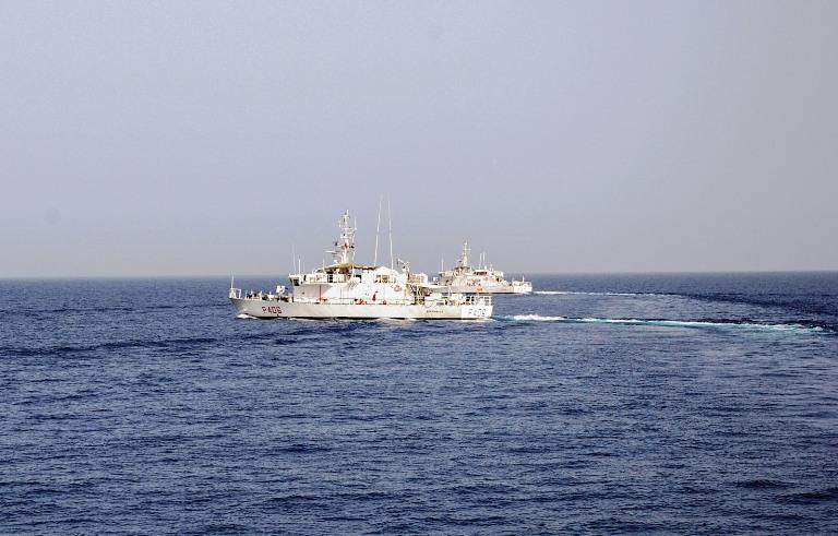 Sinai, il nuovo Comandante della MFO in pattugliamento con le navi italiane -