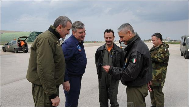 Supportato un velivolo Antonov AN-30B-