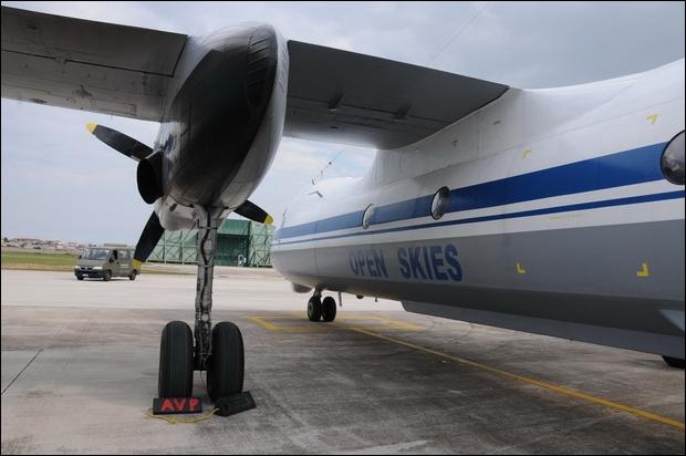Supportato un velivolo Antonov AN-30B----