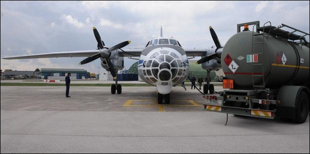 Supportato un velivolo Antonov AN-30B
