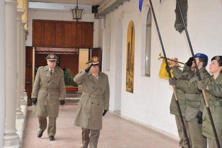 Visita del Generale Stano al CME 'Emilia Romagna'