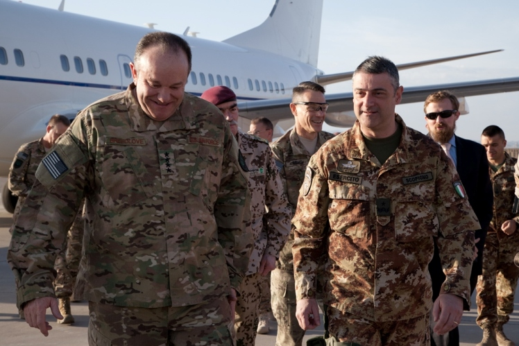 02_Il generale Breedlove con il generale Scopigno