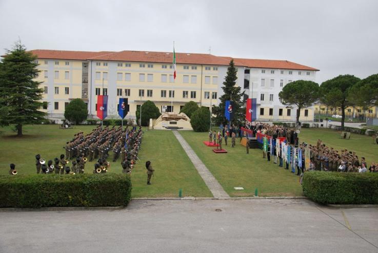 Cambio del Comandante del Battaglione Logistico Ariete -
