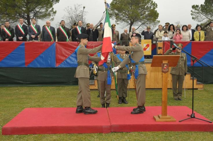 Cambio del Comandante del Battaglione Logistico Ariete --