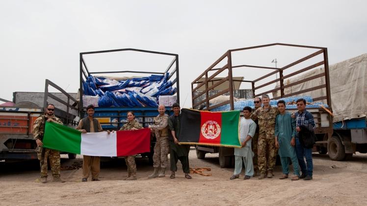 Afghanistan: alluvioni nel nord-ovest. Militari Italiani in soccorso della popolazione