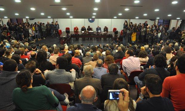 Gli astronauti atterrano a Catania-