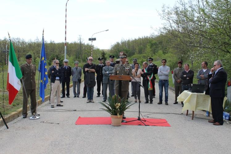 A Carpegna ( Pu) inaugurata la nuova zona atterraggio elicotteri --