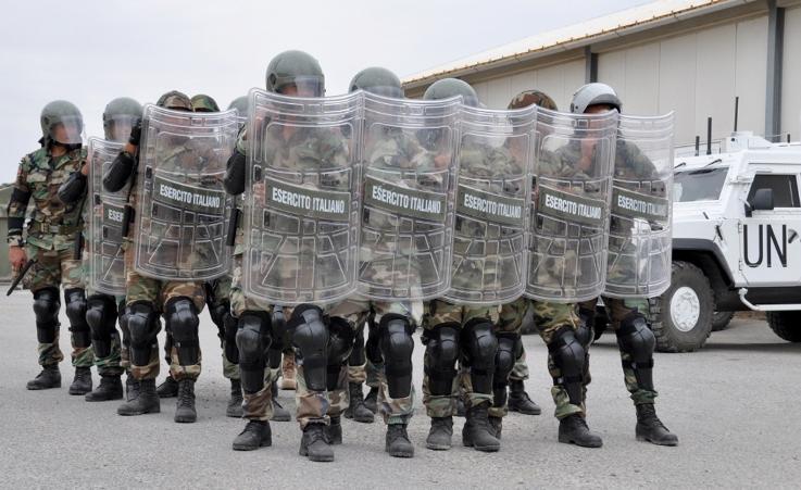 Addestramento congiunto dei caschi blu italiani con le Forze Armate libanesi -