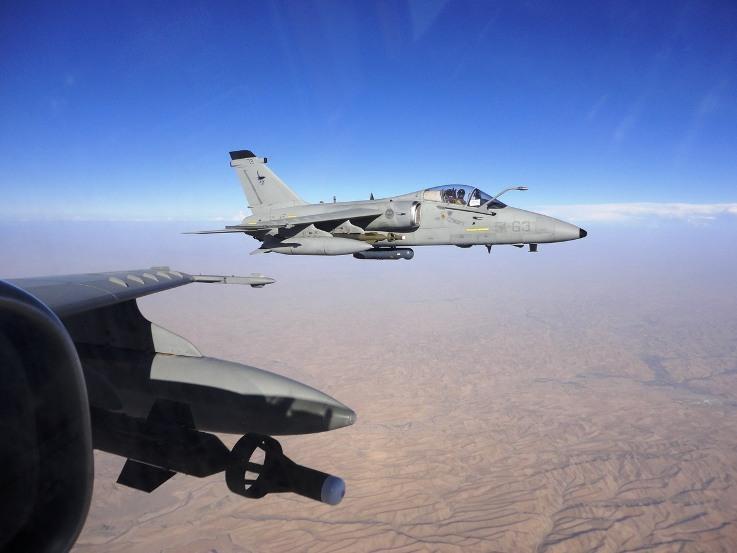 Afghanistan: Amx italiani distruggono potente ripetitore per le comunicazioni radio dei talebani