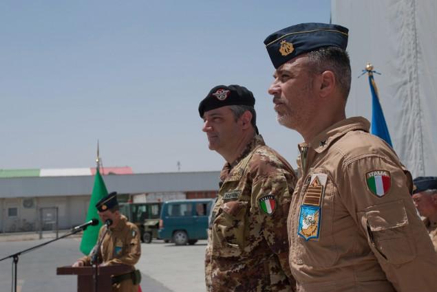 Cambio al vertice della Joint Air Task Force del contingente italiano di ISAF-
