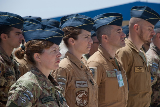 Cambio al vertice della Joint Air Task Force del contingente italiano di ISAF--