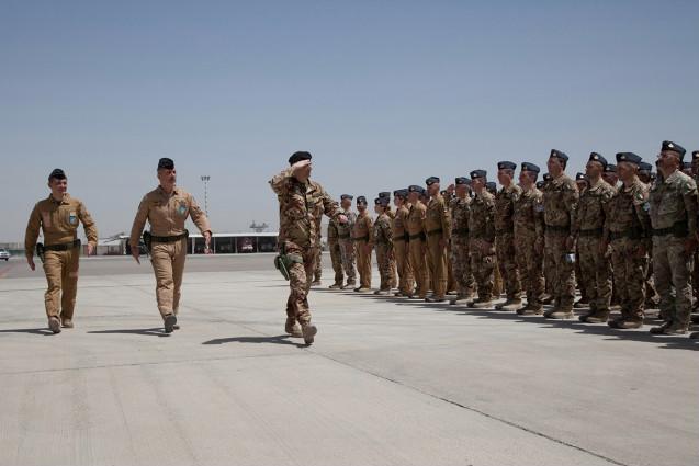 Cambio al vertice della Joint Air Task Force del contingente italiano di ISAF---
