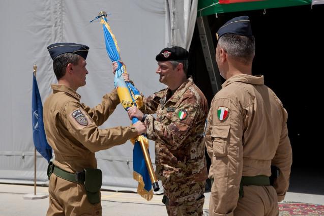 Cambio al vertice della Joint Air Task Force del contingente italiano di ISAF