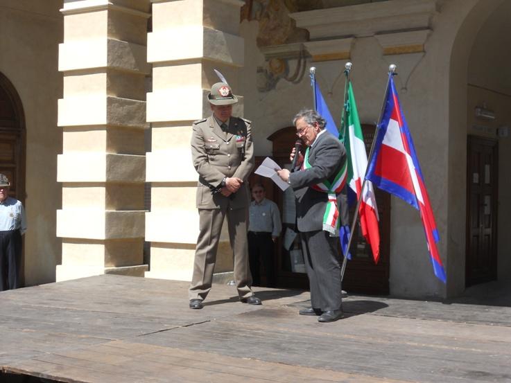 Cittadinanza onoraria al Generale di Brigata Gamba