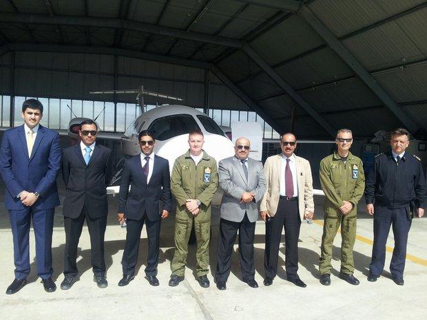 Delegazione del Qatar a Pratica di Mare-