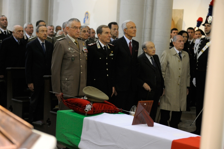Esequie del Generale Umberto Cappuzzo-