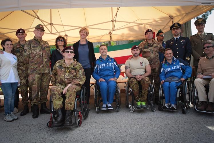 Esercito e Comitato Paraolimpico Toscano insieme per una giornata di sport