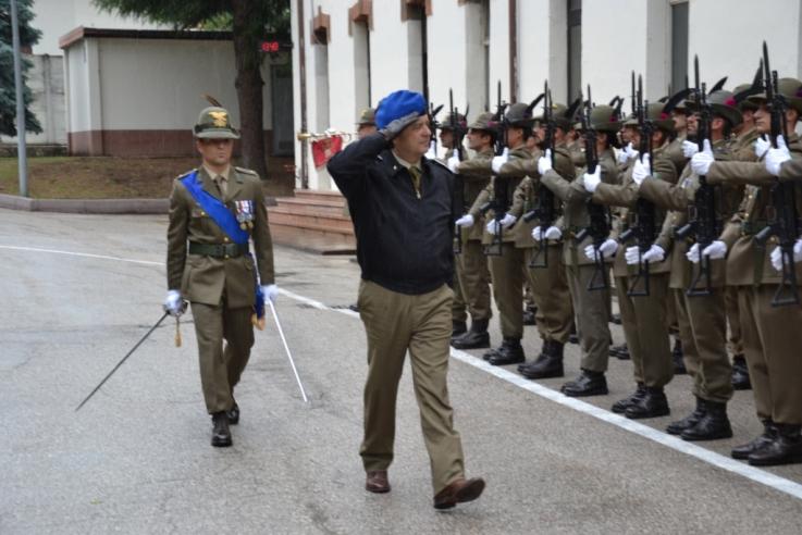 Il Generale Bernardini visita i Reparti di Supporto al Combattimento del Trentino Alto Adige