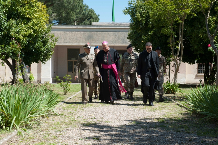 Il  COMART riceve la visita del Vescovo di Civita Castellana