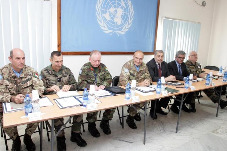 Incontro Tripartito : UNIFIL sostiene il dialogo tra Libano e Israele