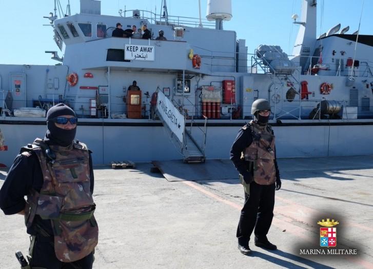 Ita-Minex 2014 – La Marina Militare si addestra alla sicurezza portuale