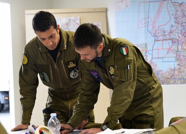 L'Aeronautica Militare alla JAWTEX 2014------