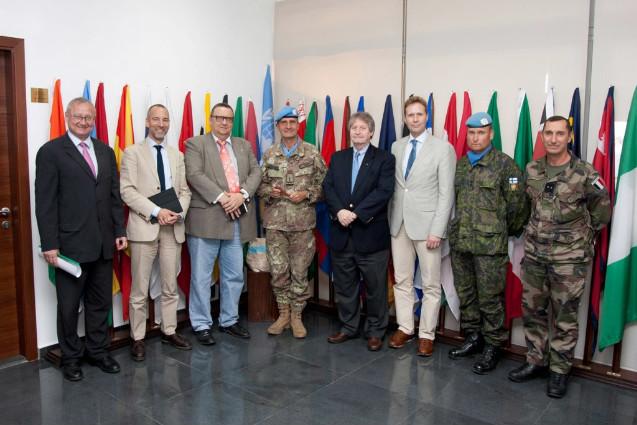 Libano: visita degli ambasciatori di Danimarca, Svezia, Norvegia e Finlandia  alla Missione Unifil