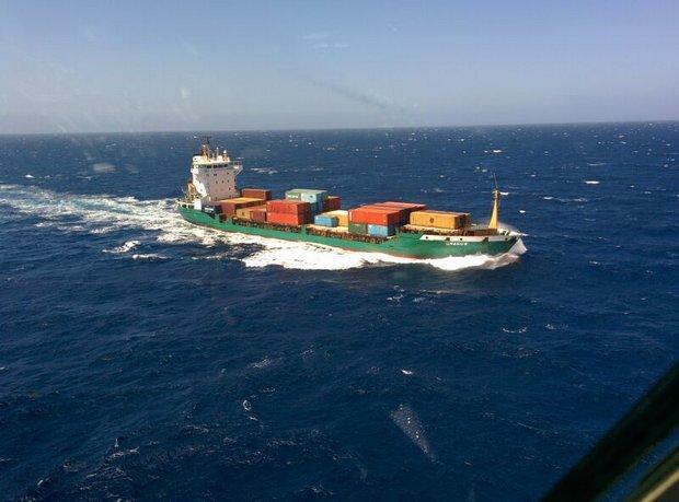 Marinaio soccorso al largo della Sardegna-