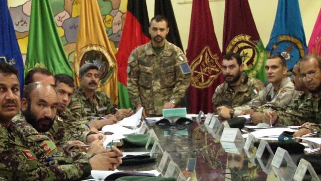 Militari italiani organizzano simposio a favore delle Forze di Sicurezza afgane